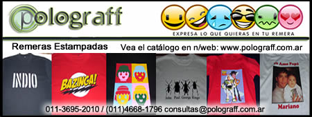 Polograf, remeras estampadas